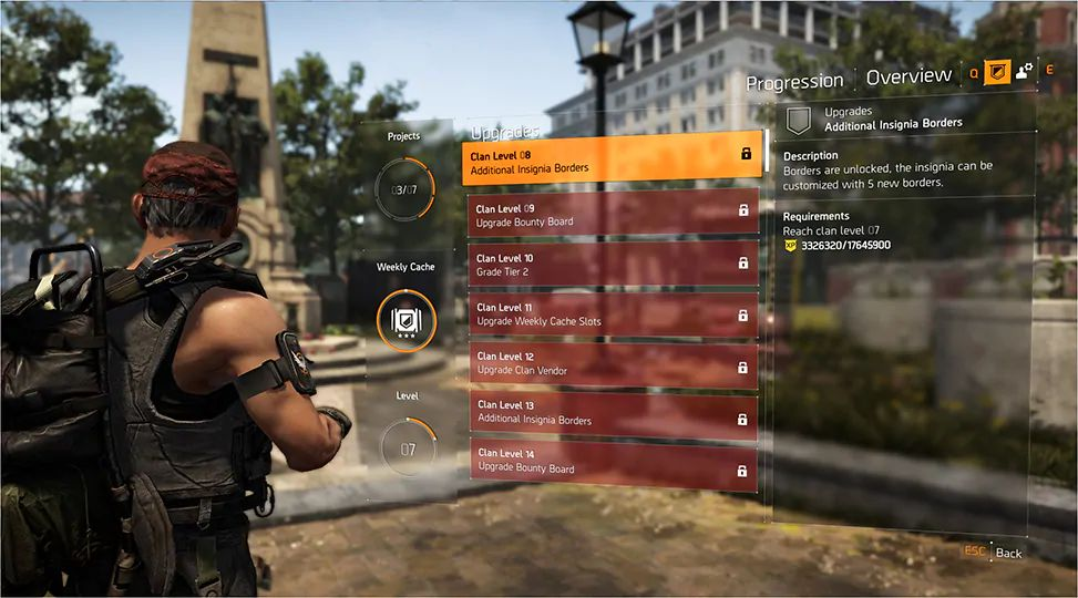 How to create Clans in The Division 2 - Division 2 tracker
